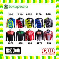 Kaos jersey sepeda baju jersey sepeda gunung bmx motocross 440