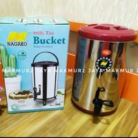 Termos Dispenser jumbo Air Panas / Dingin 10 Liter Nagako Drink Jar
