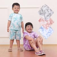 [BISA COD] TIEDYE SHIRT - tiedye t-shirt - set tie dye kaos anak 2-8th