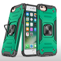 SS16320 - ARMOR SHOCKPROOF RING CASE IPHONE 6 PLUS - 6S PLUS GREEN