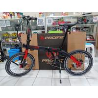 "Sepeda Lipat PACIFIC Noris ARM 20"" (Folding Bike)"