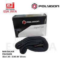 Ban Dalam Polygon 26 x 1.50 - 2.00 AV 33mm Inner Tube Ban Sepeda