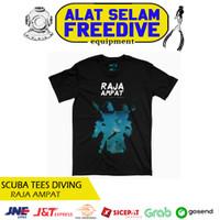 Scuba Tees Kaos Baju Selam T-shirt Distro Tshirt Raja Ampat Diving