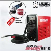 Daiden MIGi 130 2T/4T Mesin Las CO2 MIG 130 Trafo las CO gasless Ori