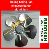 Baling baling Fan showces bahan Aluminium