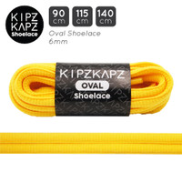 KipzKapz OS10 Sunlight Yellow 90cm 115cm 140cm Tali Sepatu Oval