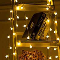 Lampu Hias Dekorasi Dinding Cafe Pohon Natal Ulang Tahun Portable - Warm White, 3 Meter