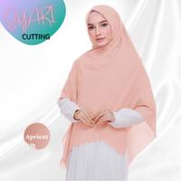 Hijab Segi empat Jilbab Segiempat Syari Jumbo Motif Cutting