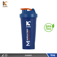 KEYRONS OFFICIAL STORE SHAKER 700 ML ANTI BOCOR WHEY PROTEIN BPA FREE