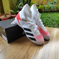 Sepatu Futsal Adidas Predator 20.3 IN White Original BNIB - 44