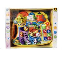 Mainan Bayi Piano Animal Teaching Paradise CY-6039B - Mainan Musik