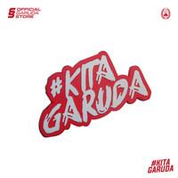 Rubber Sticker Kita Garuda GARUDA SPORTS