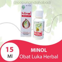 Obat luka herbal Minol 15 ml