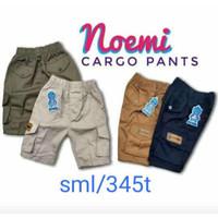 Celana Cargo anak laki laki 2 - 5 tahun    celana chino pendek