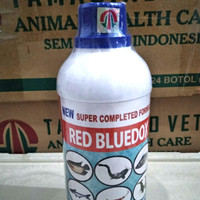 Red Bluedox 500ml - Anti jamur, parasit, bakteri, kuman, luka, kutu pa