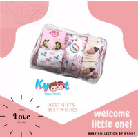 Kyoot baby Collection | set bantal guling baby | Hampers baby - pink