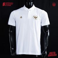 Polo Shirt Timnas Indonesia MILLS White