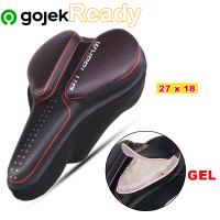 Cover Jok sedel Sepeda GEL / Sarung sadel Tebal Universal Empuk nyaman