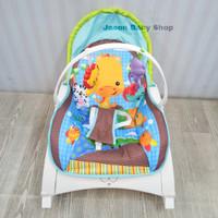 rocking chair portable right start/kursi ayun bayi/chocowaffle girrafe