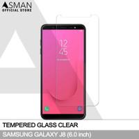 Tempered Glass Samsung Galaxy J8 (2018)   Anti Gores Kaca - Bening