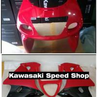 Body Fairing Sayap Ninja RR Old ZX Merah Cabai Original Kawasaki