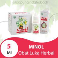 Obat luka herbal Minol 5 ml