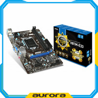MSI H81M-E33 LGA 1150 Haswell DDR3 Motherboard Mainboard
