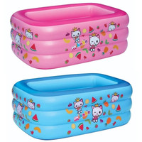 Intex Pool - Kolam Renang Kotak Gee Kingdom Mikoko 3301 - Biru Muda
