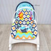 rocking chair portable rightstart/kursi ayun bayi up to 20kg/mozaik