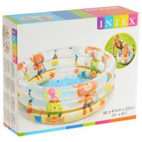 Intex Kolam Renang Anak Dino 57106 / Kolam karet 3 ring Baby Pool