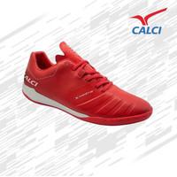 Sepatu Futsal Calci Valor ID - Red/White - 38
