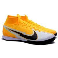 Sepatu Futsal Nike Superfly 7 Elite IC - Laser Orange/Black AT7982 801