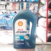 Oli Shell Advance AX7 10W/40 1L