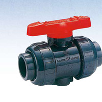 union ball valve pvc 1/2 asahi