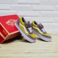 Sepatu anak laki laki dan perempuan vans Velcro Ijo Muda Size 26-30