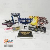 [EXPRESS] Piala, Trophy Freefire, Free Fire DESIGN DIBANTU GRATIS JL04