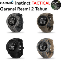 Garmin Instinct Tactical Garansi Resmi TAM 2 Tahun Insting Taktikal