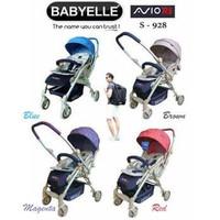 Preloved Stroller Baby Elle Avio RS 928 | Babyelle Avio Reversible 928