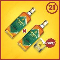 Gilbeys D'blend 700 ml 2 PCS + Shooter Bottle Avenue