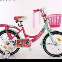 Sepeda Anak perempuan 16 Mini Genio Iris By United