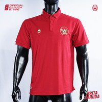 Polo Shirt Timnas Indonesia MILLS Red