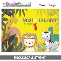 Backdrop Ulang Tahun Murah - Banner Ulang Tahun Gratis Undangan Custom