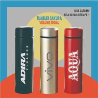 Tumbler Sakura grafir custom, thumbler, tambler, thumbler, tumblr 13 - HITAM 1 SISI
