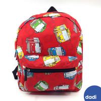 Tayo Red Backpack Small - Dadi/Ransel Anak/Tas Sekolah