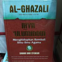 buku ihya ulumuddin al ghazali jilid 8 sabar dan syukur