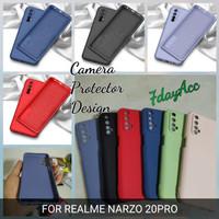 softcase realme narzo 20pro 20 pro silicon bahan lentur cover casing