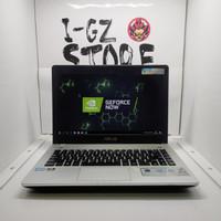 Laptop Gaming dan Editing Asus N46V 8/256 SSD i7 Dual VGA Nvidia 2GB!