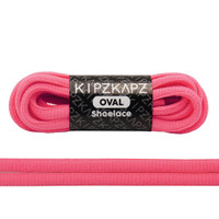 KipzKapz Shoelace -  Tali Sepatu Fluorescent Oval 6mm Solar Pink 140cm