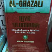 buku ihya ulumuddin al ghazali jilid 3 akhlak keseharian