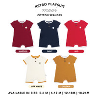 Retro Playsuit Jumper Bayi Mooi